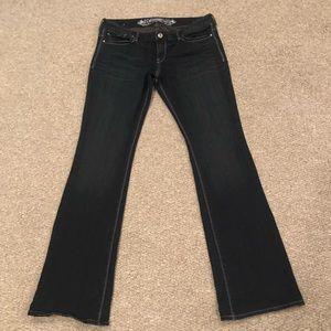 Express Jeans Stella Bootcut Dark Wash Jeans